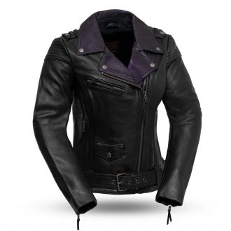 Iris – Women's Leather Motorcycle Jacket