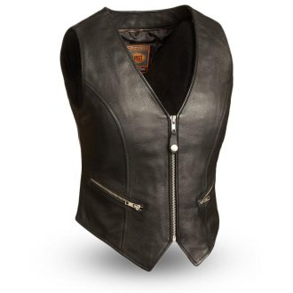 Montana – Women's Motorcycle Leather Vest