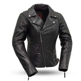Monte Carlo Women's Classic Leather Jacket