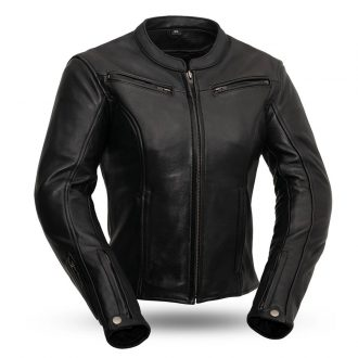 Speed Queen – Women's Leather Motorcycle Jacket