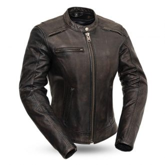 Trickster – Women's Leather Motorcycle Jacket